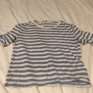 Gap Blue and White striped Shirt XS